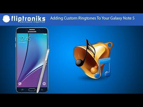 Samsung Galaxy Note 5: Adding Custom Ringtones - Fliptroniks.com