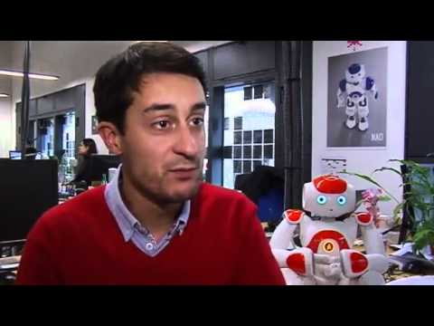 Robot sings, dances and helps with homework Video Reuters