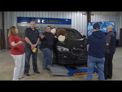 Collision Industry Leaders Take On YouTube BMW 7 Series Repair
