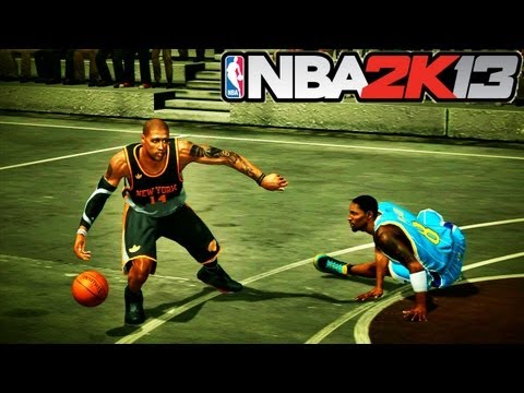 NBA 2K13: 3 on 3 Blacktop | Your Team is TRASH if you Don't PASS
