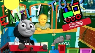  Thomas and Friends Song Train for Kids |  Kid Size Shopping Trip | Carton Kids  | EMILY TOYS 