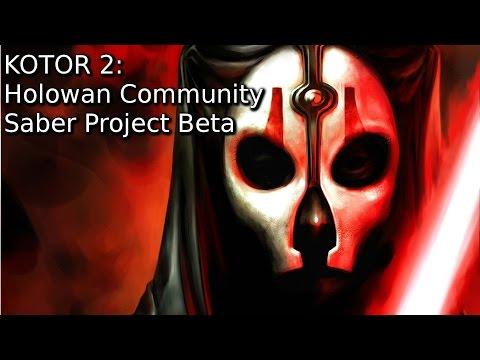 Kotor Mod Showcase: Holowan Community Saber Project Beta [TSL]