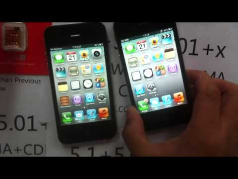 How to unlock iPhone 4s all iPhone 4S carrier(Sprint/Verizon/AT&T/ALL OTHER COUNTRY GSM, CDMA,WCDMA)