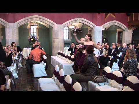 Ken Colleen Joseph Wedding Processional Surprise Dance 11-11-11