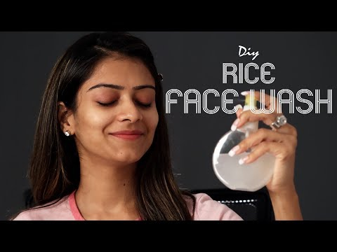 DIY Rice Face Wash | Home Remedy | Natural Remedies | Summer Face Wash | Foxy Makeup