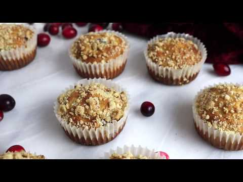 How To Make Cranberry Muffins | Christmas Recipe Ideas