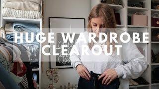 Huge Winter Wardrobe Clear Out | Walk In Wardrobe Tour | Sinead Crowe
