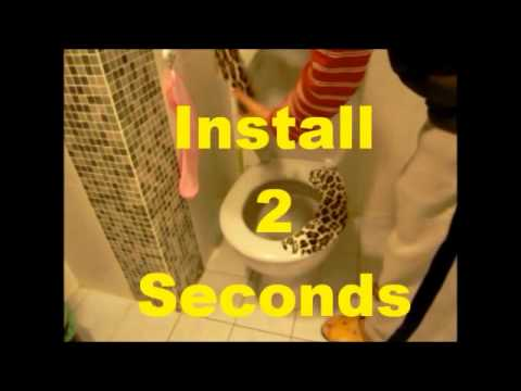 1 second remove,2 seconds install magic Toilet Seat cover