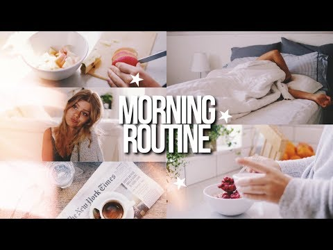 SUMMER MORNING ROUTINE 2018 | summer break!!