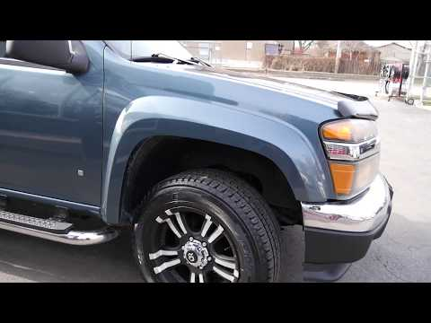 2007 GMC CANYON WITH 17 INCH OFF ROAD RIMS & TIRES