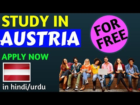 Study in AUSTRIA for Free