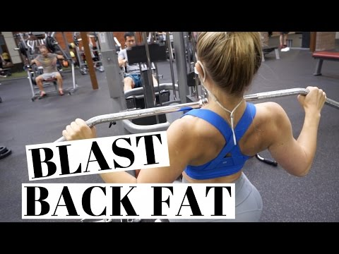 Get RID Of BACK FAT | Full Back Workout