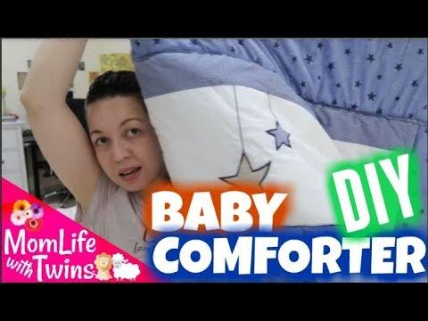 UPSCALE CRIB BUMPER TO BABY COMFORTER