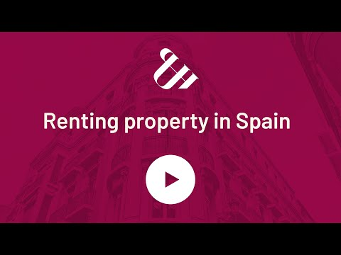Renting property in Spain