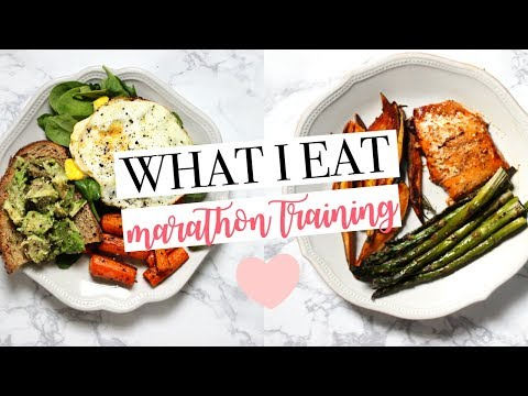 WHAT I EAT | Marathon Training | Healthy & Easy Meal Ideas!