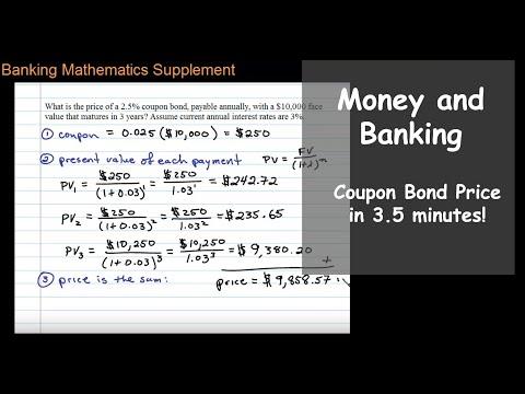 Coupon Bond Price