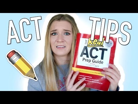 HOW I GOT A 34 ON THE ACT! My Tips & Tricks