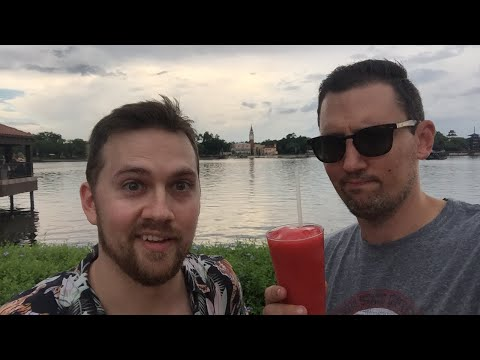 DRINKING AROUND THE WORLD at EPCOT in Walt Disney World!
