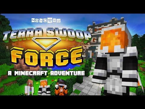 Terra Swoop Force - Launch Trailer! (Minecraft Adventure Map)