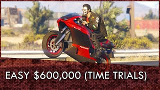 GTA Online: Time Trials Guide April 2nd-8th (Easy $600k)