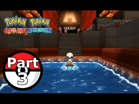 Pokemon Omega Ruby Alpha Sapphire Part 3 Team Magma Hideout Again
