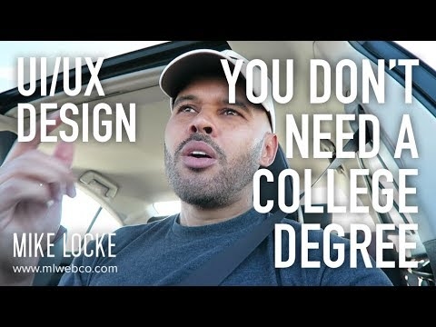 You Don't Need a College Degree to Land a Job as a UI/UX Designer [RANT]