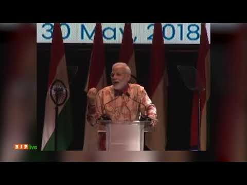 There is a special link between the cultures of India and Indonesia : PM Modi, Jakarta, 30.05.2018