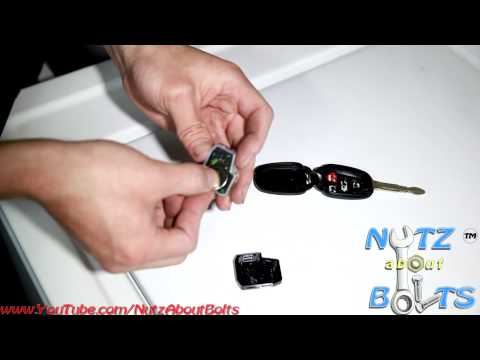 2012-2014 Toyota Camry Key battery remove and install