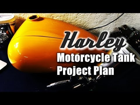 Harley Motorcycle Tank Project Plan + Q&A April 5th 9PM CST