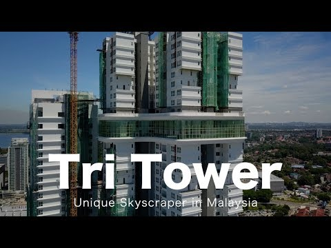 Tri Tower Johor Bahru - Progress as 25 May 2018
