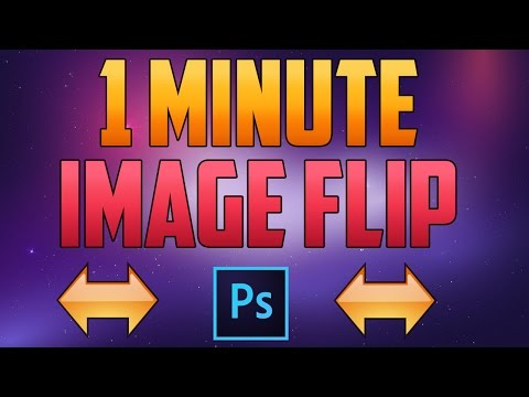 How to Flip an Image in Photoshop CC