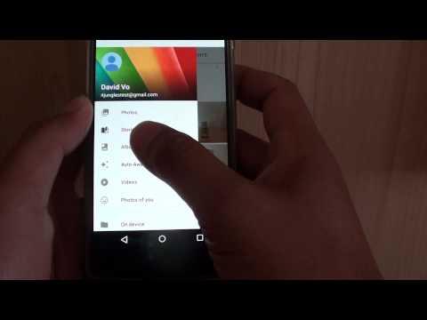 Google Nexus 5: How to Create New Photo Album