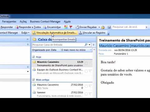 Primeiras configurações do Microsoft BCM   Business Contact Manager 2007