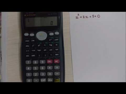 how to find imaginary roots using calculator (fx-991ms)
