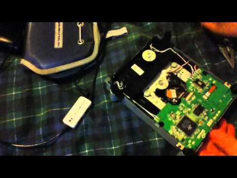 How to clean the laser on a Xbox 360 dvd drive