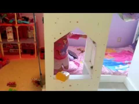 How to build a princess castle playhouse