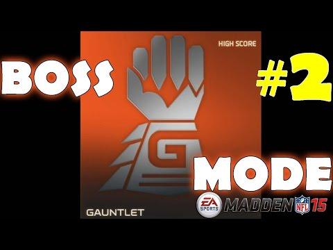 Gauntlet Boss #2 in Madden NFL 15