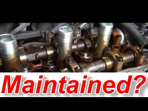 Has This Engine Been Neglected Oil Changes?