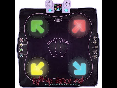 Review:  Light Up Dance Mat - Arcade Style Dance Games with Built In Music Tracks