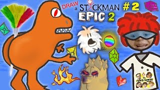 Draw A Stickman Epic 2 Giant Rat Chase Fgteev Imagination