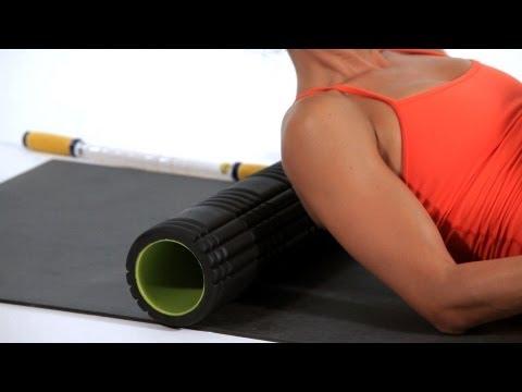 How to Foam Roll Upper Shoulder & Traps | Foam Rolling