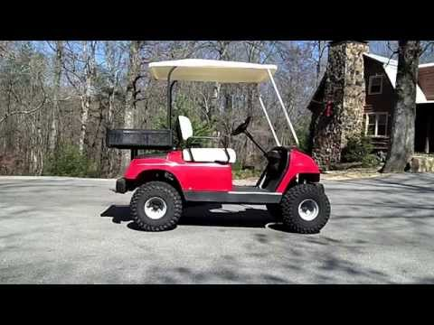 Yamaha G-16 Gas Golf Cart Needs New Shocks