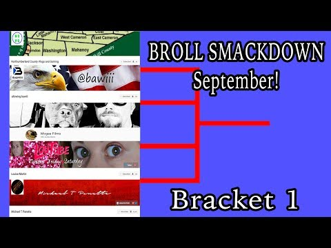BRoll Smackdown September Prelims Bracket 1- On the trail