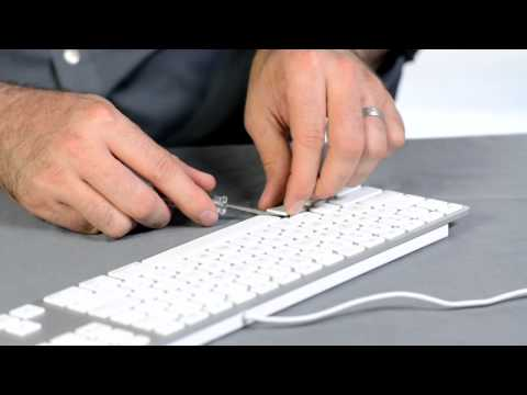 Help for an Apple Wireless Keyboard if the Apple Key Sticks : Using Apple Products