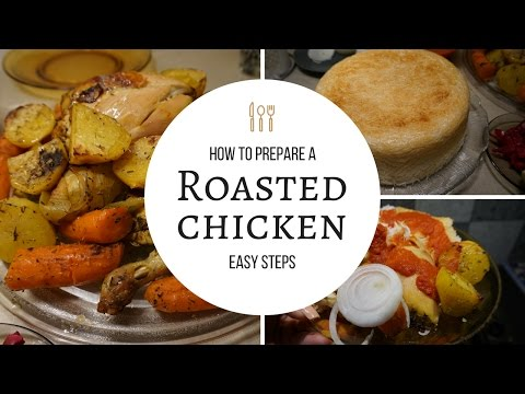 Roasted Chicken Recipe + Rice Cooker Tutorial!