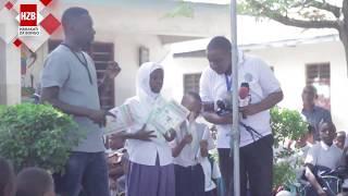 ROMA Mkatoliki alipotembelea Shule ya Msingi Mchikichini Mbagala Rangi tatu HD