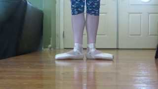 Breaking In Grishko 2007 Pointe Shoes