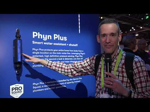 Phyn Plus Water Assistant CES 2018 First Look : Prevents pipe bursts