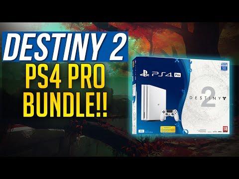 Destiny 2 PS4 PRO BUNDLE ANNOUNCED -  HOT Glacier White