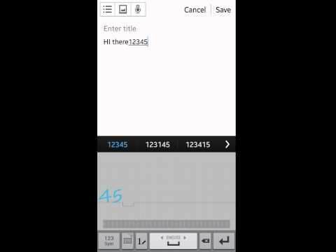 How to use handwriting keyboard on Galaxy S5